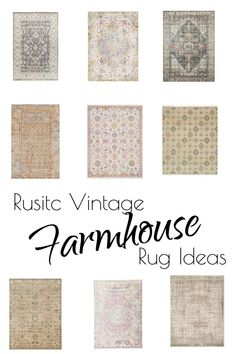 Room redo: Modern Farmhouse Country Style living room 11 Affordable Rusitc Vintage Farmhouse Rug Ideas and where to find them Always wanted to discover ways to knit, nonethel. Vintage Farmhouse Decor, Vintage Industrial Decor, Farmhouse Interior, Modern Farmhouse, Farmhouse Style, Industrial Farmhouse, Farmhouse Design, Industrial Design, Country Style Living Room