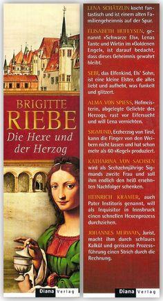 Brigitte Riebe [Lesezeichen] : Die Hexe und der Herzog von | LibraryThing