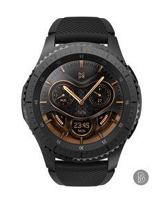 GEN - Watch face for Samsung Gear S3 / S2. Watchface by Brunen