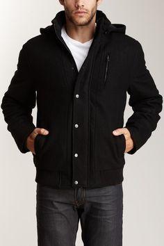 Jacket with Detachable hood, #Hautelook