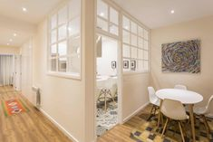 Una reforma de estilo nórdico en A Coruña salón nórdico reformas a coruña estilo nórdico diseño de interiores decoración interiores cocina nordica pequeña blog decoración nórdica