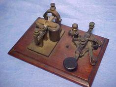 Landline and Railroad Telegraph Instruments