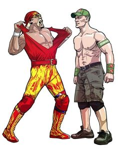 Catcheur John Cena Nikki Bella lot de 2 WWE WWF Combat Elite Collection Set
