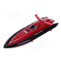 958 High Speed 4 Channel Radio Remote Control Racing Boat Toy - Red. Color Red Brand N/A Model 958 Material Plastic + Electronic components Quantity 1 Piece Shade Of Color Red Channels Quanlity 4 Channels Function Left,Right,Forward,Backward Gyroscope Yes Remote control frequency Others,35 MHz Remote Control Range 3 m Remote Type Radio Control Suitable Age 8-11 Years,12-15 Years Battery Type Ni-CD battery Battery Capacity 500 mAh Charging Time 6-8 minutes Working Time 6 minutes Remote…