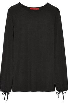 Tamara Mellon Stretch-modal jersey top | NET-A-PORTER