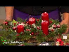Centrotavola Natalizi Fai Da Te Youtube.22 Fantastiche Immagini Su Centro Tavola Natalizio Christmas