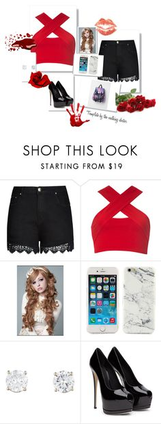"""""""rose"""" by shakiadinkins on Polyvore featuring beauty, City Chic and Motel"""