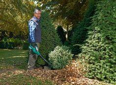 #lavorincasa : i soffiatori e aspiratori elettrici permettono di ripulire il giardino rapidamente e con minimo sforzo