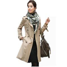 2016 New Fashion Slim Women Solid Suit Coat Slim Female Blazer Long Sleeve Windbreaker Jacket Coat Lapel Belt Clothes Plus Size