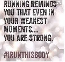 Be Healthy Quotes : Running reminds you that even in your weakest moments YOU ARE STRONG! Fitness Motivation, Running Motivation, Fitness Quotes, Marathon Motivation, I Love To Run, Just Run, Keep Running, Running Tips, Running Club