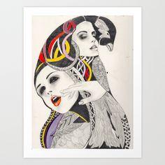 I Believe in beauty 4 Art Print by Felicia Atanasiu | Society6