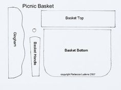 71 best picnic basket images paper crafting picnic baskets