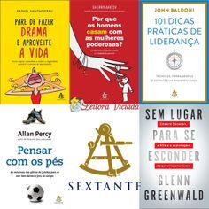 #Lancamentos de maio da #EditoraSextante: http://www.leitoraviciada.com/2014/05/lancamentos-de-maio-da-sextante.html  #lancamento #livro #livros #book #books #autoajuda #desenvolvimentopessoal #relacionamentos #lideranca #biografia #PorQueOsHomensSeCasamComAsMulheresPoderosas #PareDeFazerDramaEAproveiteAVida #101DicasPraticasDeLiderança #PensarComOsPes #SemLugarParaSeEsconder #SherryArgov #RafaelSantadreu #JohnBaldoni #AllanPercy #GlennGreenwald