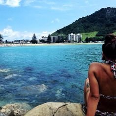 With my fave lil babe in one of my favourite places. Mount Maunganui a must see…
