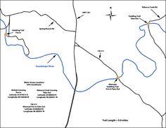 Upper Guadalupe – Nichol's Landing Paddling Trail