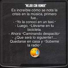 """""""Qué Pena de Crisis"""" #mejorconhumor"""