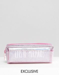 Buy Paperchase Mermaid Pencil Case at ASOS. Get the latest trends with ASOS now. Pencil Bags, Pencil Pouch, Melanie Martinez Style, Mermaid School, Cute Pencil Case, School Accessories, Cute School Supplies, Cute Stationery, Stationary
