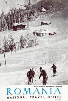 Skiing Romanian style