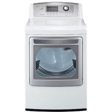 LG 7.3 Cu. Ft. Electric Dryer with TrueSteam Technology Cheap