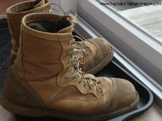 Picking a pair of boots for the long haul. . .