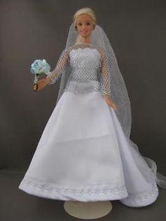 Wedding Star. €6. Zelfgemaakte Barbie kleding te koop via Marktplaats bij de advertenties van Nala fashion. Homemade Barbie doll clothes (OOAK) for sale through Marktplaats.nl Verkocht/Sold