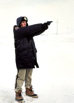 Margie Gunderson - my hero from Fargo, the best Coen movie ever and in the top 10 of all movies I've seen!
