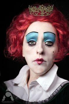 Halloween makeup   Queen Of Hearts by Amanda Chapman https://www.facebook.com/amandachapmanphotography