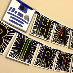 Star Wars Party Decorations, Star Wars Birthday Decorations, Star Wars  Happy Birthday Banner,