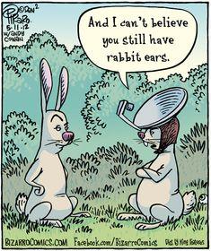 Happy Easter! Some fun from Bizarro Comics Pinned by www.drmelindadouglass.com | #techjoke #Easter