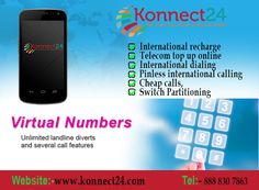 pinless international calling at cheap rates of konnect24 mobile app voip - Pinless Calling Card