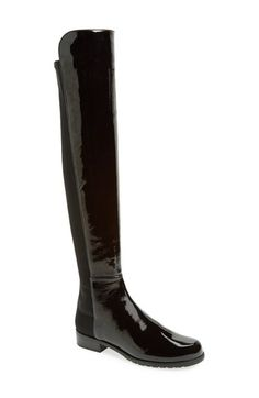 Stuart Weitzman '5050' Over the Knee Leather Boot available at #Nordstrom
