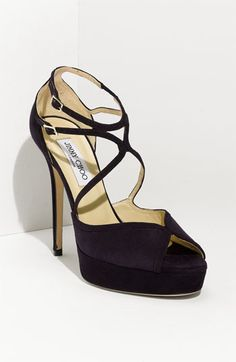 Shop Women's Jimmy Choo Purple size Heels at a discounted price at Poshmark. Description: Does have wear hence pics and price Lots of life left! I have jimmy choo shoe bag to go with. Strappy Shoes, Suede Heels, Shoes Heels, Purple Heels, Purple Suede, Deep Purple, Ankle Straps, Strap Heels, Jimmy Choo Shoes