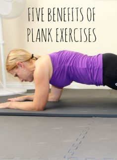 Top 5 Benefits of Plank Exercises