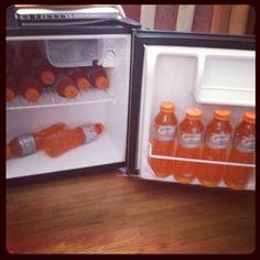 Bolt's Gatorade supplies!