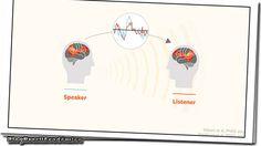 """É assim que seu cérebro se comunica  O neurocientista Uri Hasson pesquisa a base da comunicação humana e experimentos de seu laboratório revelaram que mesmo quando se trata de línguas diferentes nosso cérebro mostra atividade semelhante ou se torna """"alinhado"""" quando ouvimos a mesma ideia ou história. Esse mecanismo neural incrível nos permite transmitir padrões cerebrais compartilhando assim memórias e conhecimentos. """"Conseguimos nos comunicar porque temos um código em comum que apresenta…"""