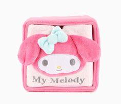 My Melody Plush Cube Drawer: Pink