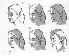 Расположение теней на лице человека в зависимости от местонахождения источника света.... фото #4