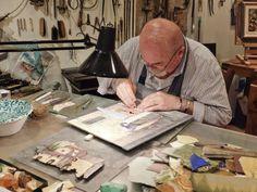Renzo Scarpelli at work