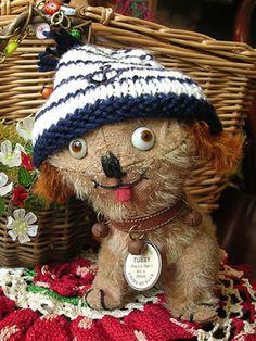 antique einco tubby dog - Google Search