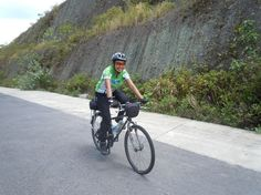 Aristi,Indonesian long distance cyclist
