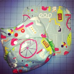 Mad Science Cloth Diaper with minky inside by SewGreene on Etsy, $16.00