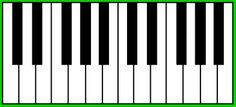 piano toetsenbord - Google zoeken