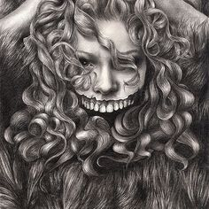 girl, invisible monsters Palahniuk, horror, face, dark, eyes