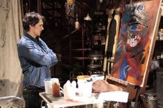 Celebrity artists at work: James Franco