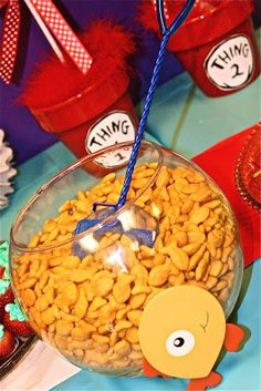 Bolling With 5: The Cat In The Hat's Party Food
