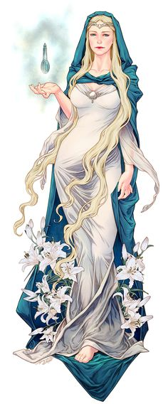 Lady Galadriel - Lord of the Rings