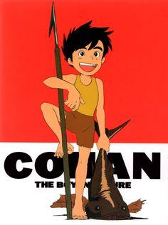Anime Adaptations of American and British Lit Hayao Miyazaki, Manga Art, Manga Anime, Future Boy, 80 Cartoons, Castle In The Sky, My Neighbor Totoro, French Girls, Cool Animations