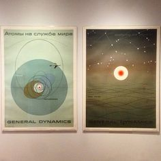 Atoms for peace 1955 - Erik Nitsche #HowPostersWork by friendsoftype
