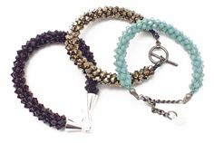 Free Kumihimo Seed Bead Patterns including Simple 8 Kumihimo Braiding Technique, Kumihimo with Long Magatamas and Beaded Kumihimo, along with videos on Simple Twist Pattern, Instructions for Making the Beaded Kumihimo Bracelet Kit and How To Make a Kumihimo Bead Bracelet Using Long Magatama Beads.