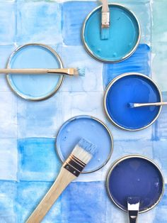 Pantone, Collage, Colours, Instagram Posts, Blue Aesthetic, Blues, Spa, Palette, Decorations